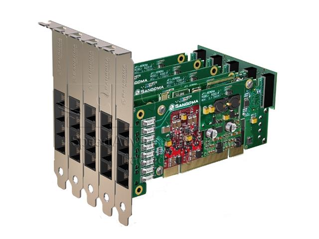 A200 Analog card - Sangoma A200 analog card