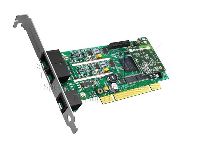 B600 Analog card - Sangoma B600 4FXO & 1FXS PCI card