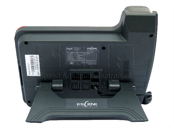 ES320-N IP Phone - Escene ES320-N Back view