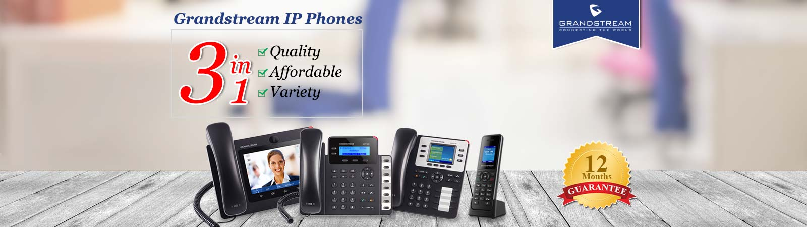 grandstream - ip - phones
